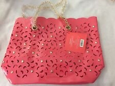Nicki Minaj Coral Lace Jelly Bag  Tote MK-120 Brand New