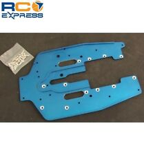 GPM Racing Tamiya Terra Crusher 5mm Rib Chassis Blue TEC016V