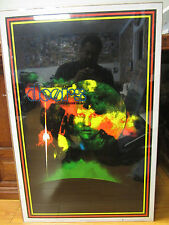 Vintage flocked Rock and roll 1997 RAINBOW MAN The Doors poster 266