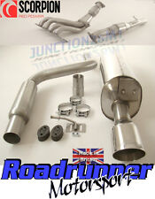 SCORPION FIESTA ST150 MK6 FULL STAINLESS EXHAUST SYSTEM INC MANIFOLD SPORTS CAT