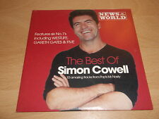 VARIOUS - THE BEST OF SIMON COWELL - NEWS OF THE WORLD PROMO CD - UK FREEPOST