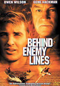 Behind Enemy Lines (DVD, 2005, Sensormatic) disc only