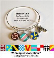 Breeders Cup - Winning Silks Bracelet - Gun Runner - Arrogate - Amer Pharoah