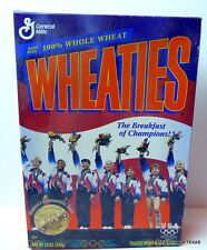 GOLD Gymnastics TEAM USA Womens  Wheaties Cereal Box ATLANTA 1996