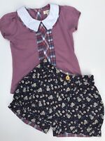 Matilda Jane Size 4 Forever Friends Katherina Tee And Shelby Shorts