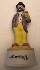 Emmett Kelly Flambro Circus Hobo Clown Figurine Music Box Send in the Clowns