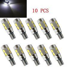 T10 White 194 W5W 5630 LED Light 10 SMD CANBUS ERROR FREE Car Side Wedge  Bulb