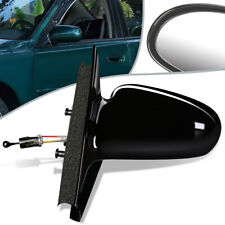 Fit 96-02 Saturn SL SW OE Style Manual Side View Door Mirror Left/LH GM1320184
