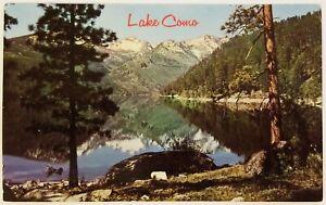 Lake Como and Bitterroot Range Rocky Mountains Postcard