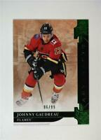 2019-20 UD Artifacts Emerald Stars #115 Johnny Gaudreau /99