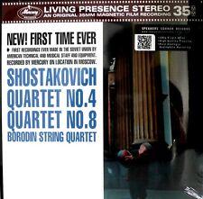 SHOSTAKOVICH - MERCURY - SR90309 - 35mm FILM - QUARTETS NO.4/8 - 180 GRAMS