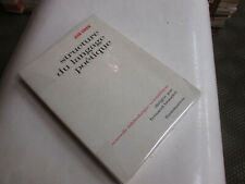 Structure du langage poétique..Cohen (Jean)..edition 1971.