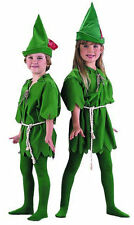 Child Unisex Peter Pan Lost Boys Robin Fancy Dress Costume Boys Girls Costume