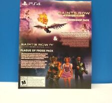SAINTS ROW GAT OUT OF HELL - DOUBLE DLC PACK (PS4) DLC ONLY #110