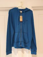 Original Penguin Snorkel Blue Full Zip Hoodie Size Medium New with Tags