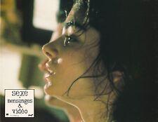 Laura San Giacomo Sexe, Mensonges & Vidéo Steven Soderbergh Lobby card 1989
