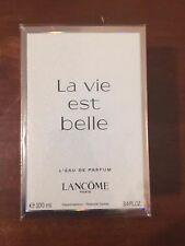 La Vie Est Belle By Lancome 3.4 oz EDP Eau De Parfum Spray Women 100% AUTHENTIC