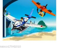 LEGO Flugzeug Island Xtreme Stunts Air Chase 6735 Abenteuer in d Luft Airplane