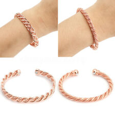 Unisex Copper Magnetic Bracelet Therapy Relief Arthritis Pain Healing Bangle