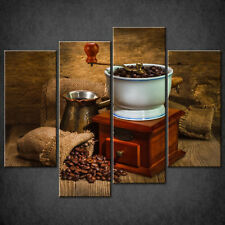 COFFEE GRINDER CANVAS PRINT PICTURE WALL ART HOME KITCHEN DECOR FREE DELIVERY