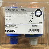 Fargo HDP5000 84051 Color Ribbon - YMCK - 500 Prints - New Sealed