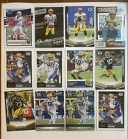 Green Bay Packers Football Card Lot Jordan Love RC Aaron Rodgers Brett Favre