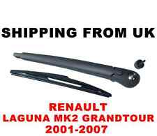 REAR WINDSCREEN ARM BLADE WIPER KIT SET RENAULT LAGUNA MK2 II 2 GRANDTOUR ESTATE