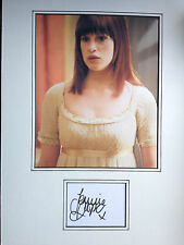 JEMIMA ROOPER - LOST IN AUSTEN ACTRESS  - SUPERB SIGNED COLOUR DISPLAY