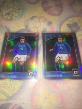 Federico Chiesa 2018-19 Donruss Optic Holo Rated Rookie 2 Card Lot