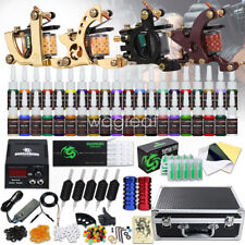 Tätowierung Tattoo Kit Komplett Tattoo Set 40 Farben Inks 4 maschine 50 Nadeln