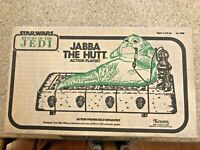 star wars ROTJ Jabba the Hutt Action Playset, Sealed MIB ships worldwide!