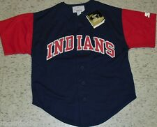 Cleveland Indians (STARTER) Kids Youth Jersey sz. Medium New nwt Chief Wahoo