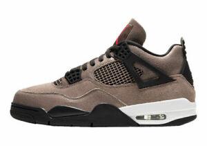 Size 9.5 - Jordan 4 Retro Infrared/Off White/Oil Gray/Taupe Haze 2021