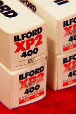 ILFORD XP2  ISO 400  120 Black & White FILM  PROCESSES WITH COMMON C-41 COLOR