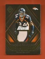 CHAMP BAILEY - 2018 Majestic Distinguished Defenders Gold Jersey #25/25 -Broncos