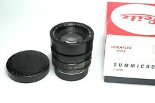 Leica Summicron-R 90mm F2 E55 11219 Like New
