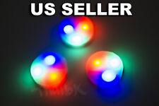 Blinking LED Fidget Spinner 608 bearing Weights Toy US EDC