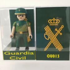 CU013C Custom playmobil Guardia civil traje faena