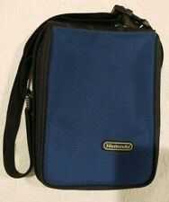 Travel Case for Game Boy Advance SP, GBA - Blue Padded Travel Case w/pockets.