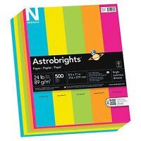 """Astrobrights Colored Paper - For Inkjet, Laser Print - Letter - 8.50"""" X 11"""" - 24"""
