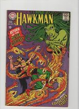 Hawkman #25  - Return Of The Death Goddess - 1968 (Grade 7.0) WH