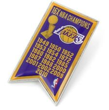 LOS ANGELES LAKERS - CHAMPIONS - LAPEL/HAT PIN - BRAND NEW - NBA-PN-1064-25