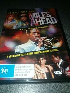 Miles Ahead DVD Rare Jazz Miles Davis Story Don Cheadle Ewan McGregor Region 4