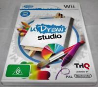uDraw Studio Nintendo Wii PAL *No Manual* Wii U Compatible