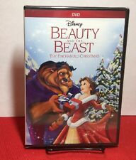 Beauty and the Beast: An Enchanted Christmas (DVD, 2016) NEW - Free Shipping