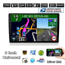 9 inch 2Din Car Ultrathin Radio Stereo Multimedia MP5 Player Mirror Link US SHIP