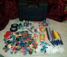 Lot of K'NEX Pieces & K'NEX Plastic Storage Case~ OCC ~ Orange County Choppers