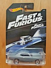 Hot Wheels 2016 FAST & FURIOUS 4/8 '70 CHEVELLE SS