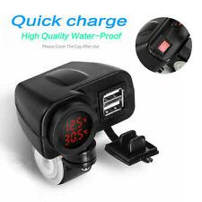 12V USB Ladegerät Motorrad Motorcycle Telefon Steckdose Adapter Wasserdicht 1