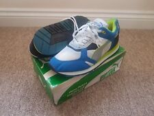 PUMA Satellite Retro Vintage Rare Trainers Trinomic Running 1990 Deadstock DS